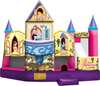 Disney Princess 3D Inflatable Combo Unit