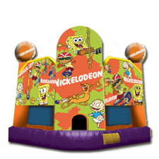 Nick Toons Bounce House